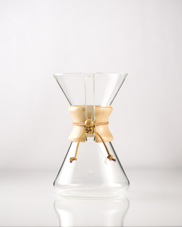 Eight Cup Handblown Series Glass Coffeemaker