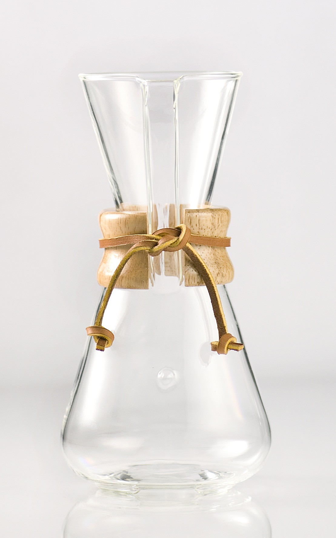 Chemex Three Cup Classic Series Glass Coffeemaker