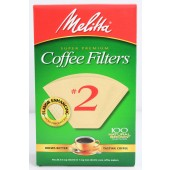 Melitta #2 Natural Coffee Filters: Cone